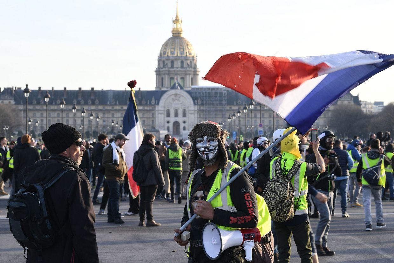 La manifestation parisienne du 16 février