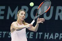 Tennis BGL BNP Paribas Luxembourg Open 2018 Kockelscheuer 14.10.2018 Mandy MINELLA (LUX)