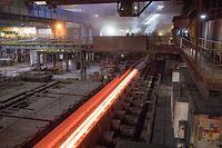 Wi , PK ArcelorMittal , Site de Differdange , Stahl , Stahlindustrie , anc Arbed , Foto:Guy Jallay/Luxemburger Wort