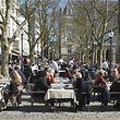 Die milden Frühlingstemperaturen laden zu Aktivitäten im Freien ein.