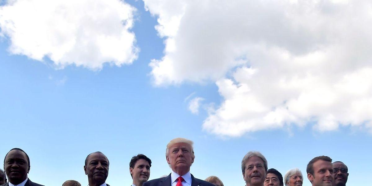 «Je prendrai ma décision finale sur l'accord de Paris la semaine prochaine !», a tweeté le président américain au moment même où s'achevait le sommet du G7.