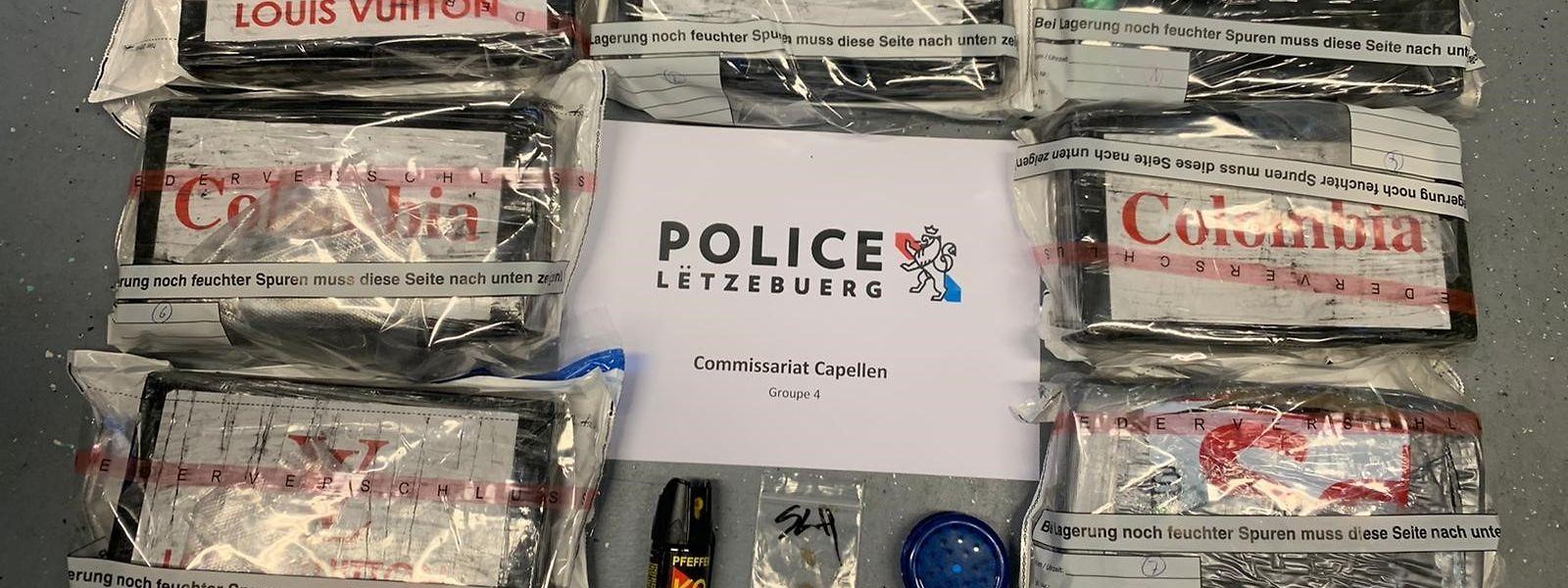 Die Drogen haben einen Marktwert von 596.000 Euro.