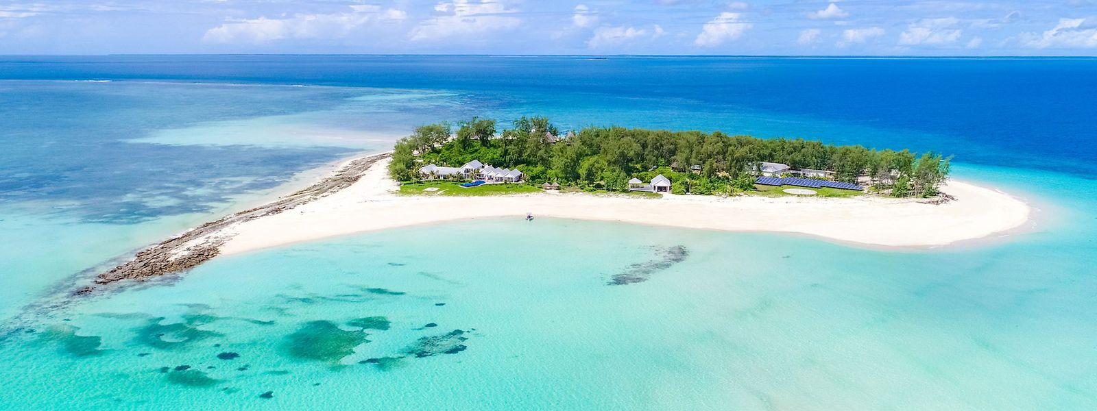 Die Miet-Insel Thanda Island in Tansania aus dem Angebot von Vladi Private Islands.