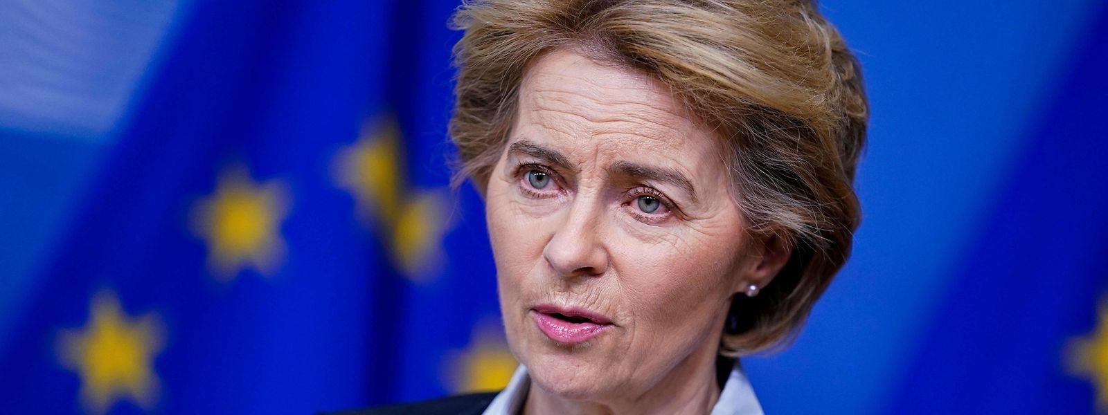 La présidente de la Commission européenne débloquera déjà cette semaine 7,5 milliards d'euros.