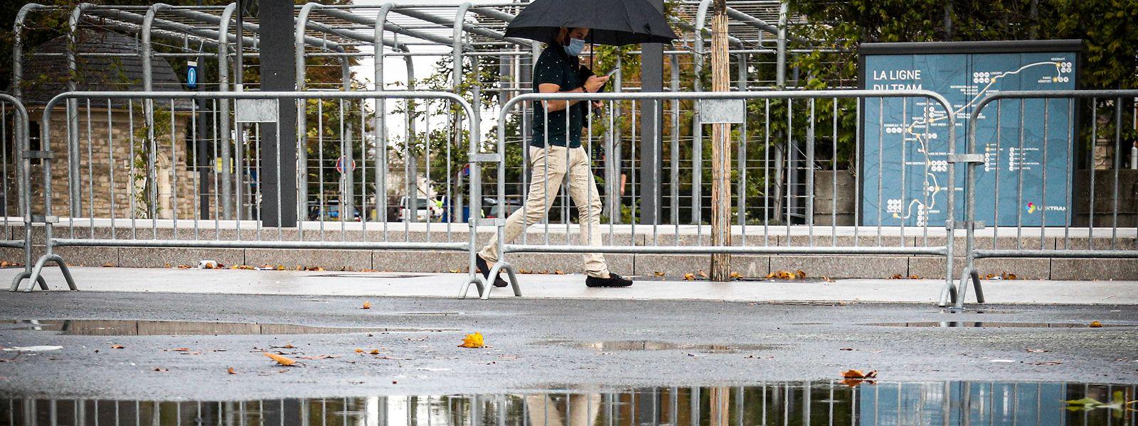 Insbesondere in der letzten Septemberwoche häufte sich der Niederschlag.