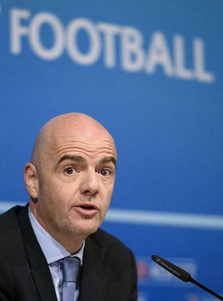 In der Kritik:  FIFA-Boss Gianni Infantino.