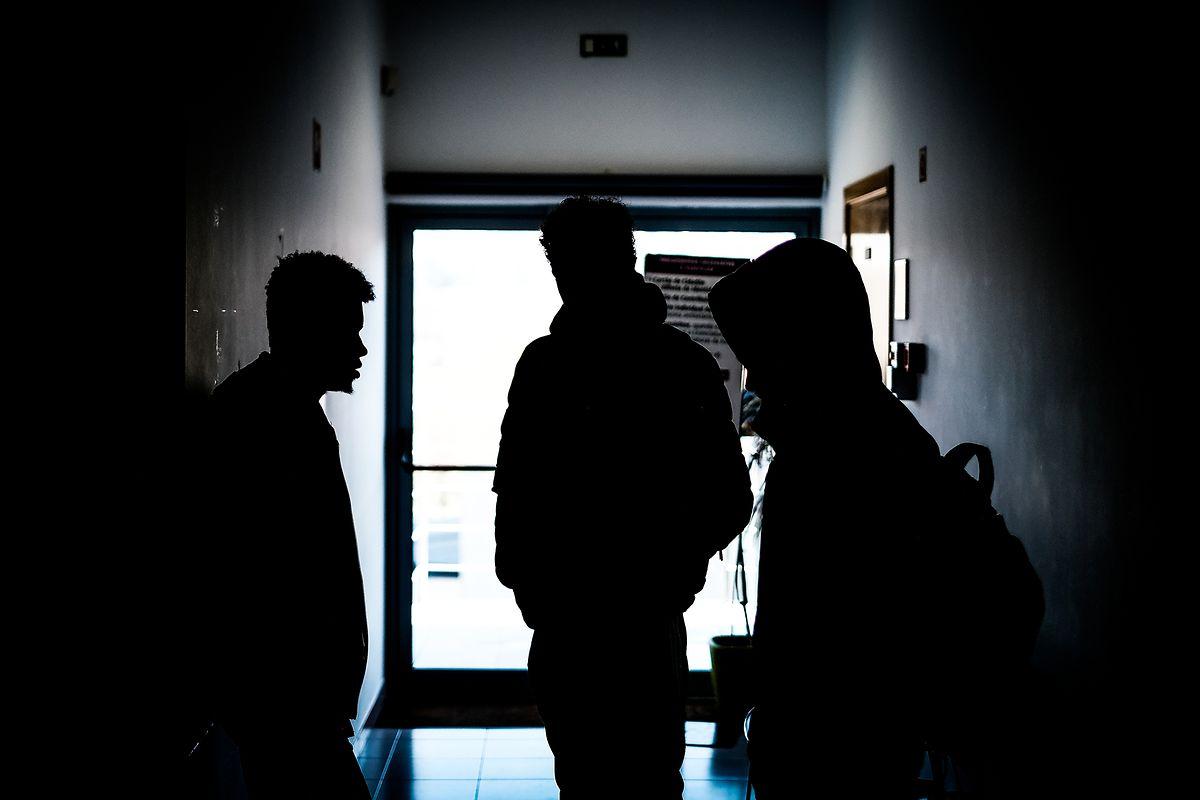 Os Três amigos que estavam com Giovani no local e que também foram agredidos