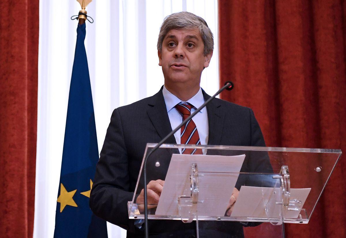 Mario Centeno (AFP)