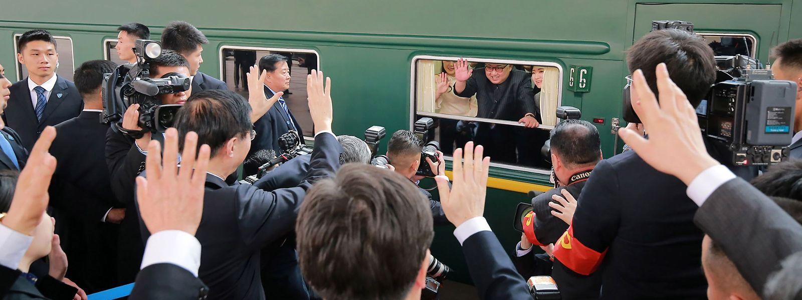 Ein raffinierter Schachzug: Noch vor seinem Treffen mit Südkoreas Staatspräsident hat sich Kim Jong Un die Unterstützung Chinas zugesichert.