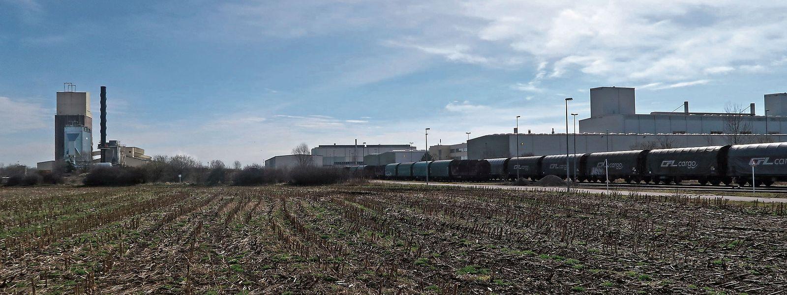 Auf diesem Gelände ist die Fage-Fabrik geplant. Wann sie errichtet wird, steht aber auf einem anderem Blatt.