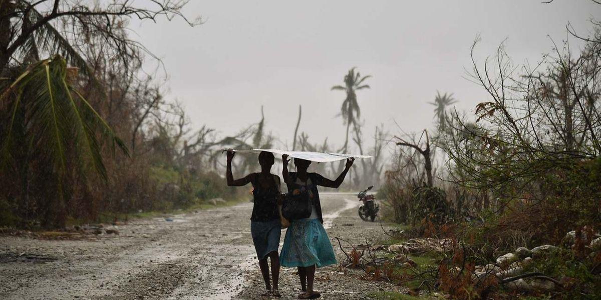 Teile Haitis wurden durch den Hurrikan verwüstet. Luxemburg bietet Hilfe an.