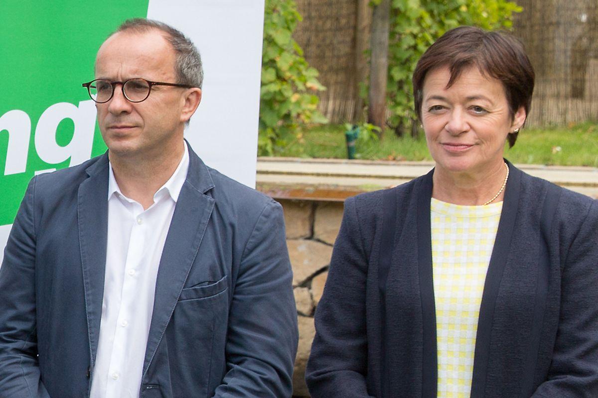 Josée Lorsché hält an ihrem Fraktionskollegen fest.
