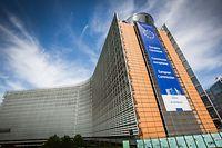 Europaviertel, Bruxelles, Commission Europeenne, Berlaymont, Foto Lex Kleren