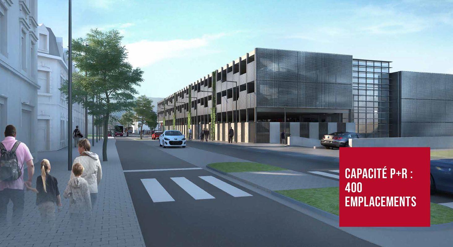 Dans l'Est du pays, la gare de Wasserbillig sera modernisée et dotée d'un P+R de 400 places en 2023 pour 42,3 millions d'euros.