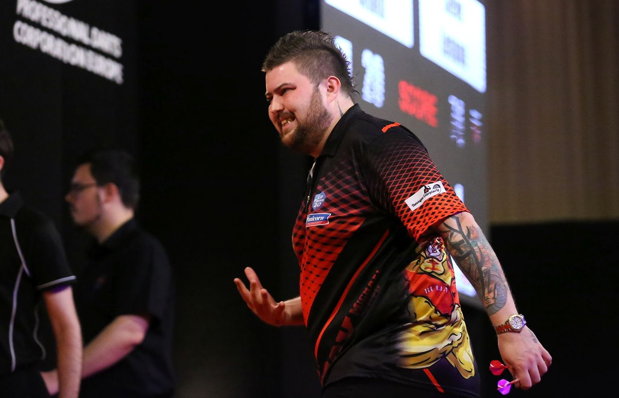 Michael Smith erreichte das Finale.