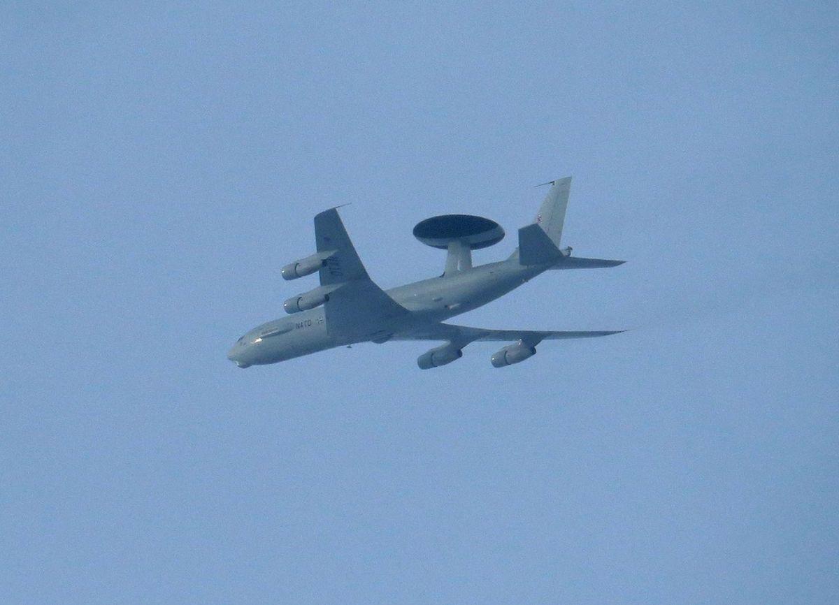 Die AWACS-Maschinen sind in Geilenkirchen stationiert.