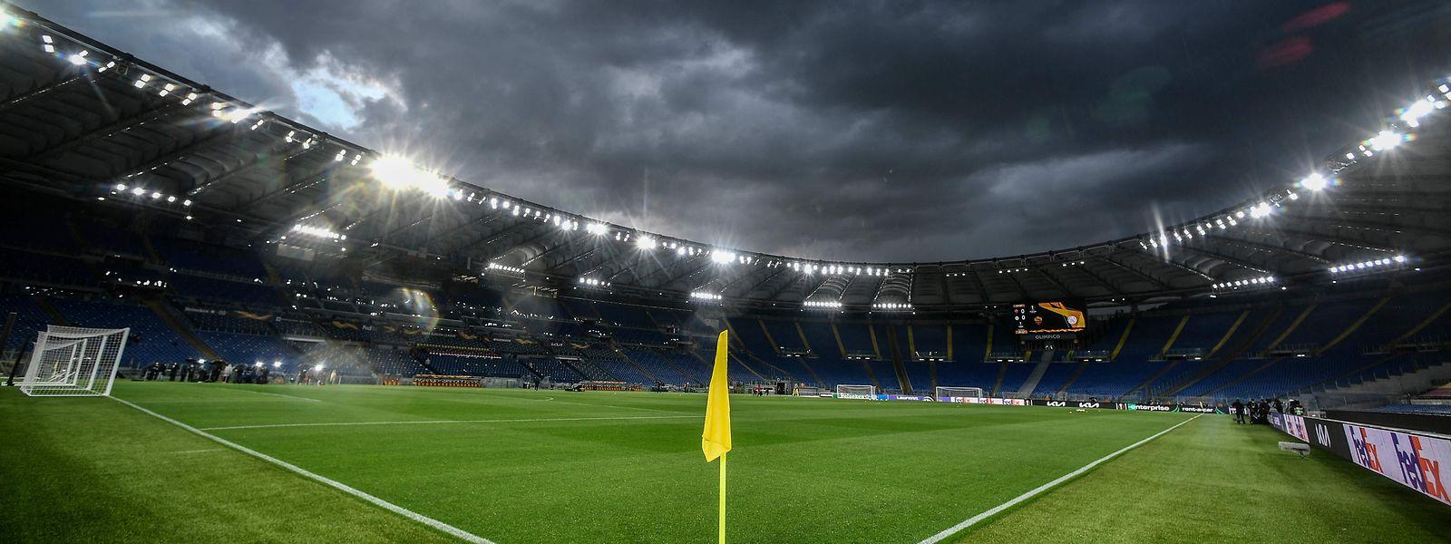 Dunkle Wolken über Europas Fußballhimmel.