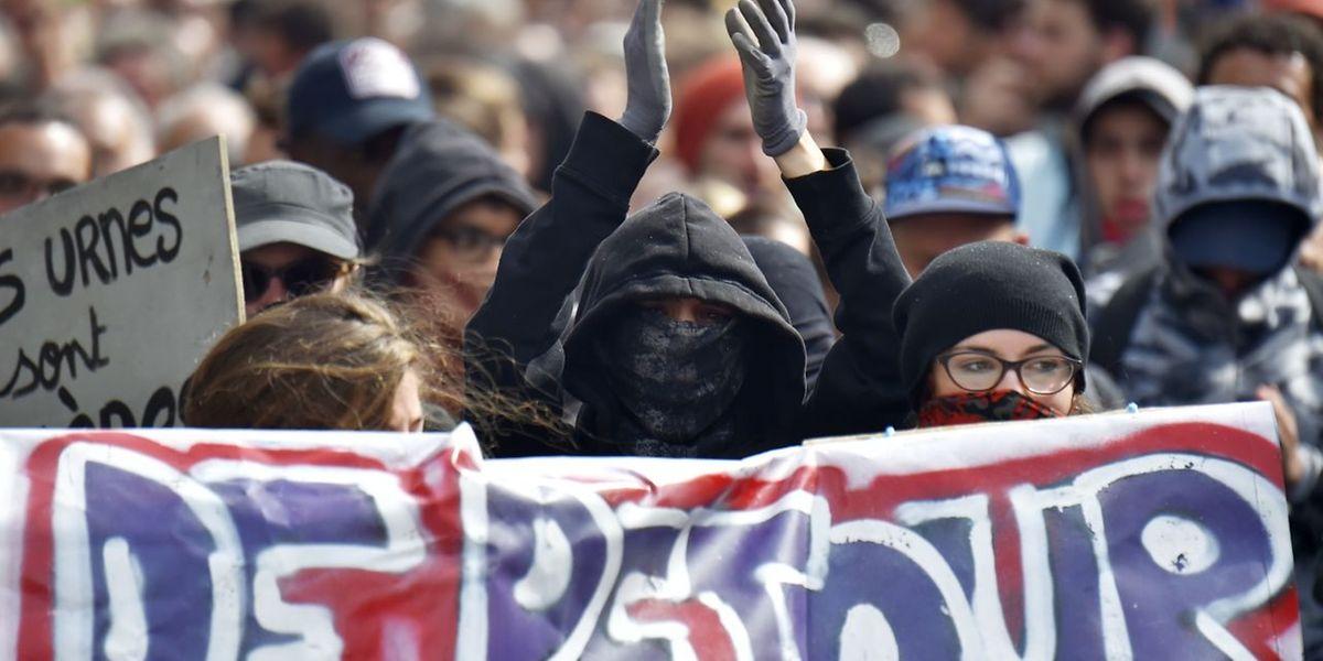 Über 230.000 Menschen protestierten am Dienstag gegen die Reform.