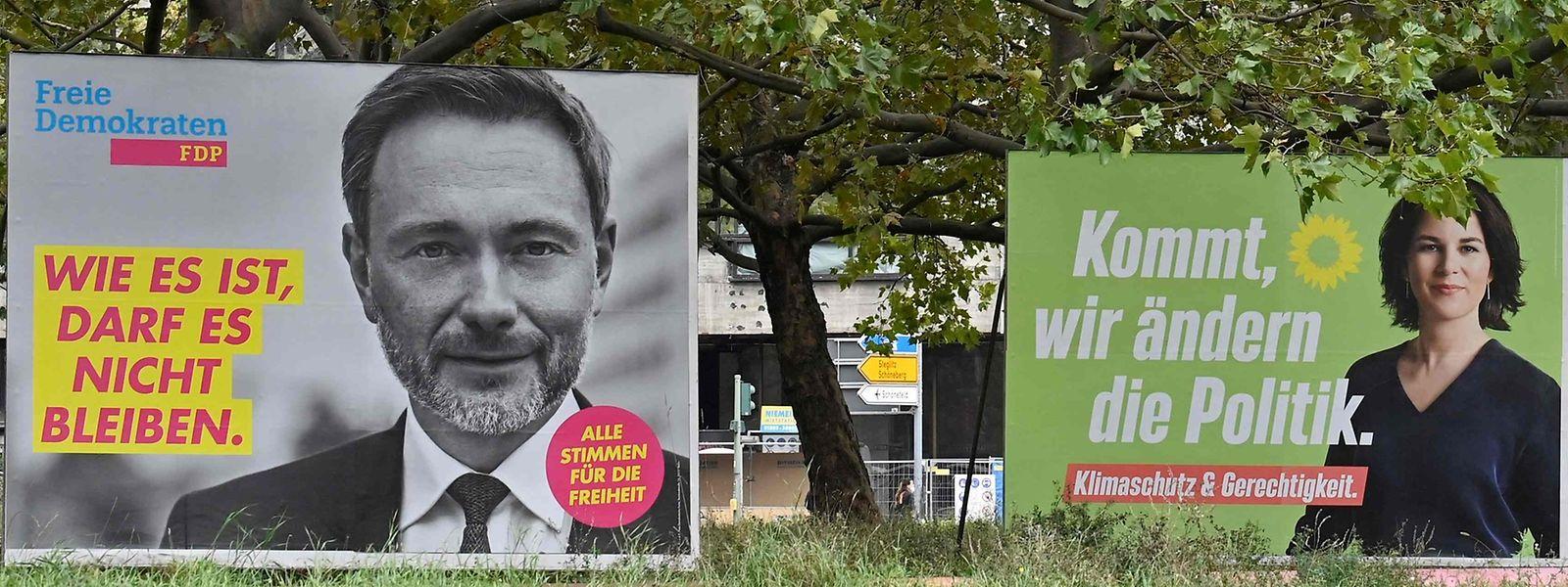 Ohne FDP und Grüne gibt es wahrscheinlich keine neue Regierungskoalition.