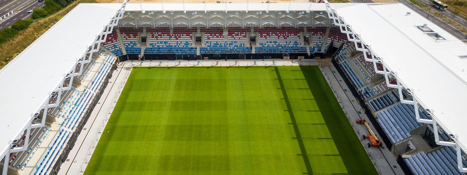 Wann im neuen Stadion in Kockelscheuer gespielt werden kann, ist noch nicht klar.