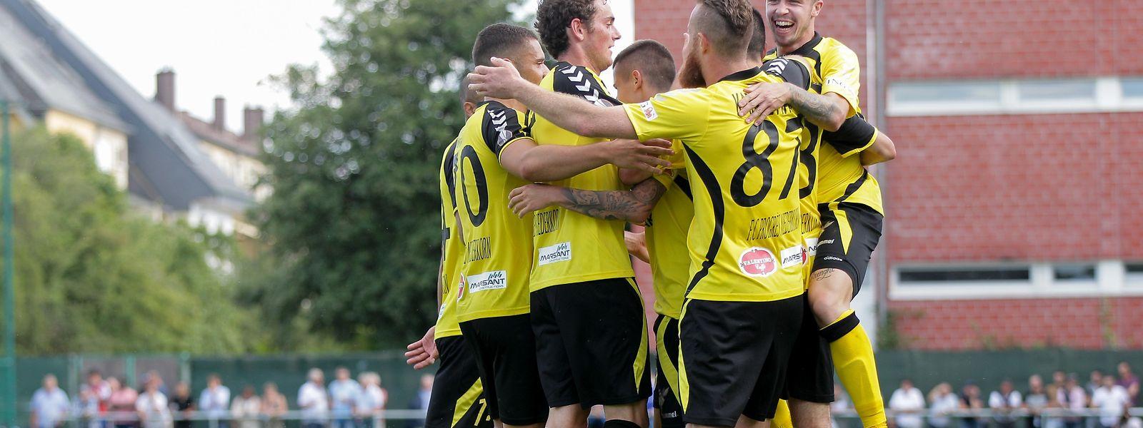 Zweiter Spieltag, zweiter Sieg für Progrès Niederkorn.