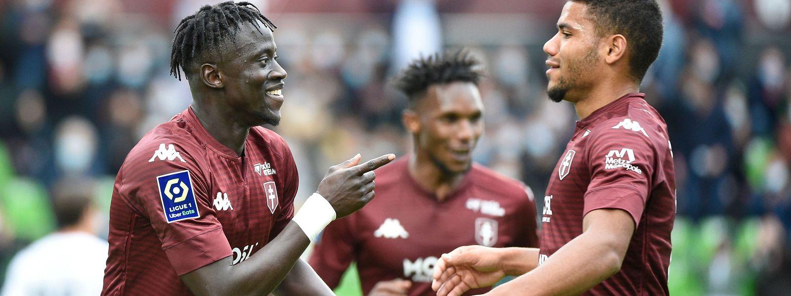 Six journées disputées et déjà six buts pour Ibrahima Niane. Le jeune attaquant sénégalais de 21 ans (à gauche) n'avait marqué que trois buts la saison dernière.