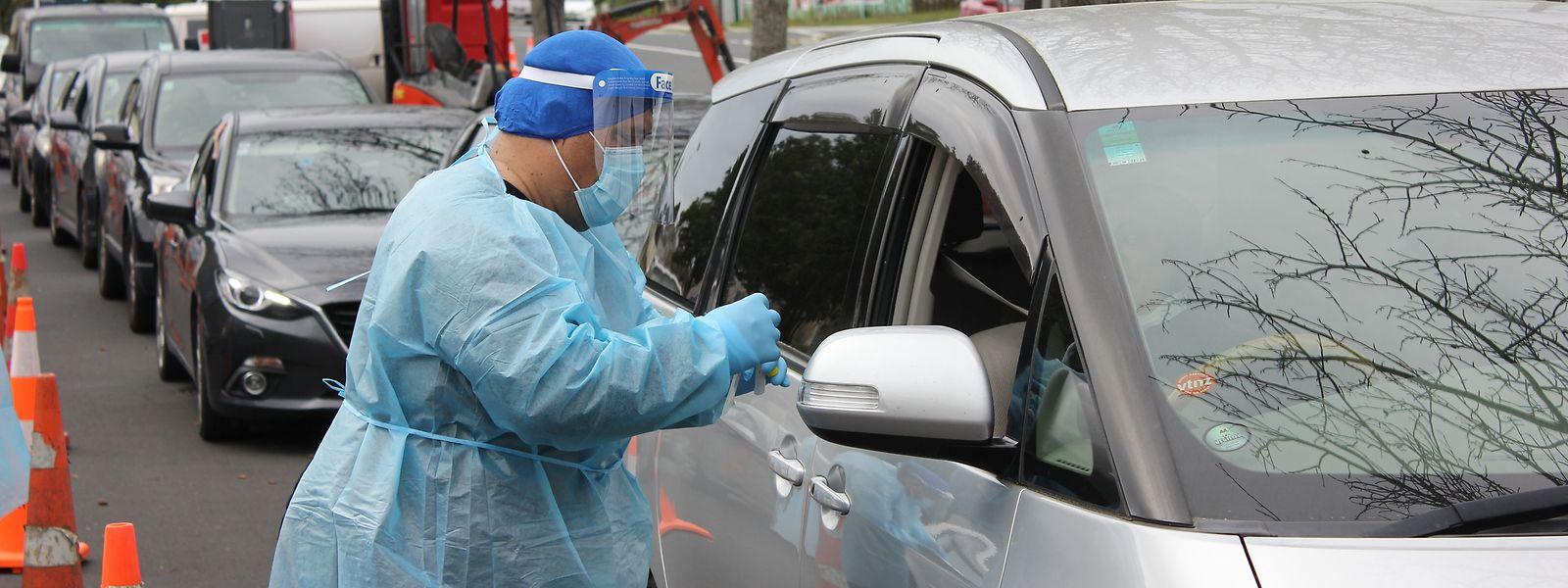 Neue Corona-Fälle in Auckland: Die neuseeländische Stadt igelt sich bis zum 26. August ein.