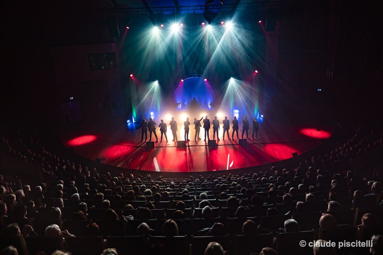 The 12 Tenors - Luxembourg  - Conservatoire - 09/01/2019 - photo: claude piscitelli