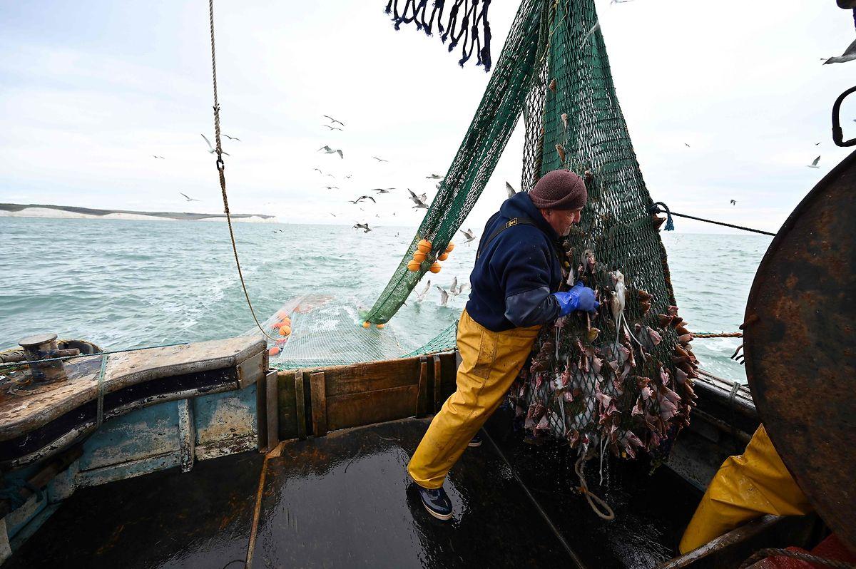 Les pêcheurs «ne sauraient être les sacrifiés du Brexit», prévient le président français Emmanuel Macron