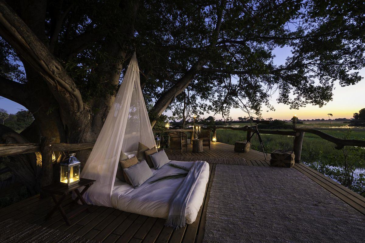 Auf exklusive Ausstattung muss man bei den erlesenen Lodges nicht verzichten - im Gegenteil: Manche Unterkunft bietet auch das besondere Übernachtungserlebnis im Freien.