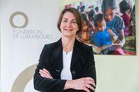 Tonika Hirdman, seit mehr als zehn Jahren Direktorin der Fondation de Luxembourg