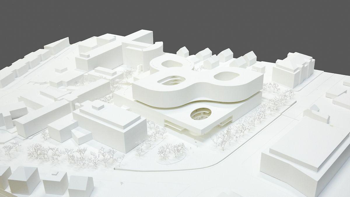 """Der dritte Preis wurde an das Team """"Nickl & Partner Architekten AG"""" vergeben."""