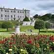 Powerscourt House and waterfall, Houses and gardens 2011