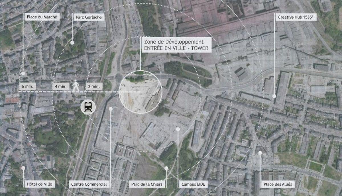 Ce nouveau projet vise à compléter le centre-ville.