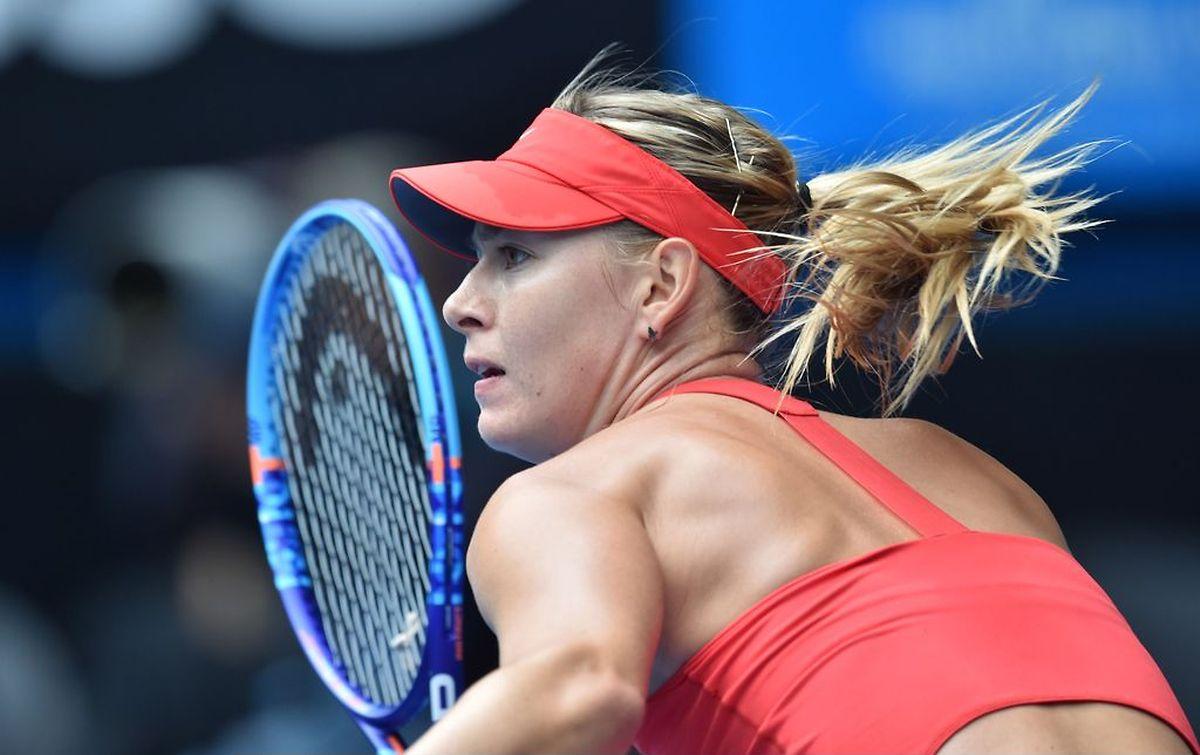 Maria Sharapova s'est montrée sans pitié pour la Canadienne Eugenie Bouchard