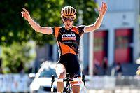 Christine Majerus (Boels) holt einen weiteren Landesmeistertitel - Radsport-Landesmeisterschaften auf der Straße - Rennen der Frauen - Foto: Serge Waldbillig