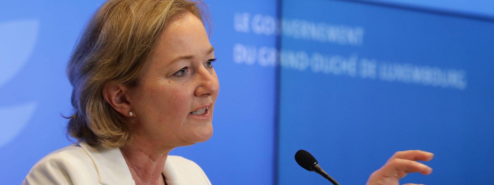 Gesundheitsministerin Paulette Lenert bleibt vorsichtig.