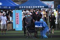 Autoridades locais testaram nos últimos dias quem passou pelo principal mercado abastecedor de Pequim.