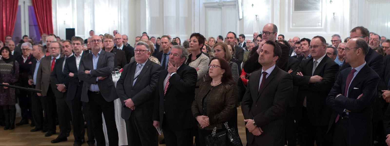 Der Neujahrsempfang der Arbeitnehmerkammer fand am Montagabend im Cercle Cité statt.