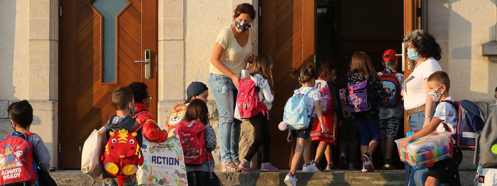 L'organisation de la rentrée scolaire pourrait être laissée à la discrétion des fédérations.