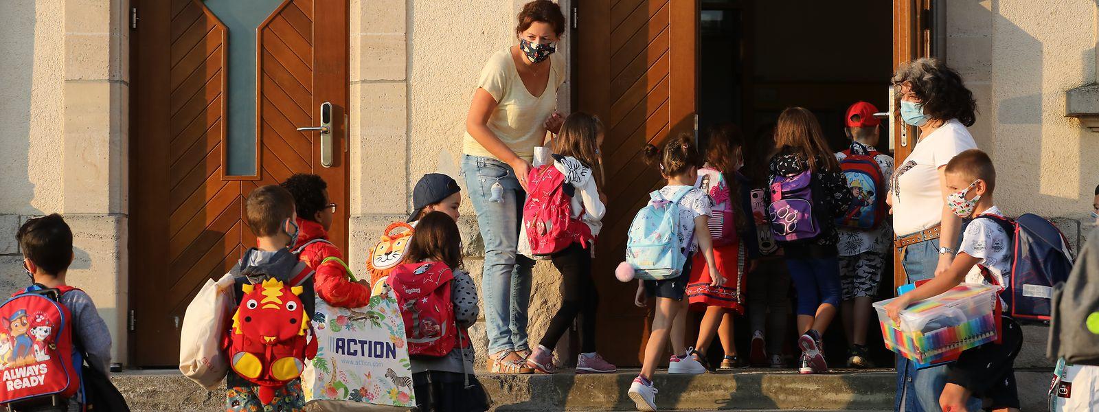 159 élèves du fondamental et du primaire ont contracté le virus depuis le 15 septembre selon les chiffres publiés par le ministère de l'Education nationale.