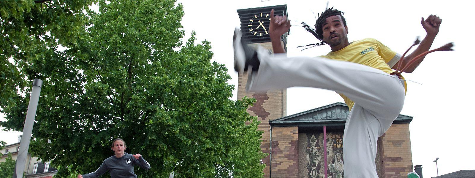 Capoeira in Bonneweg.