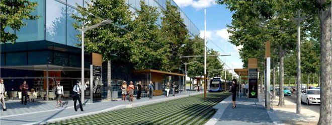 Feu vert du parlement pour la construction du tramway à Luxembourg.
