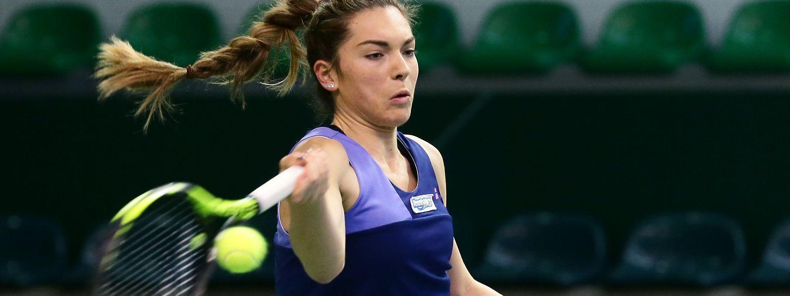 Eléonora Molinaro ist in Amiens weiterhin ohne Satzverlust.