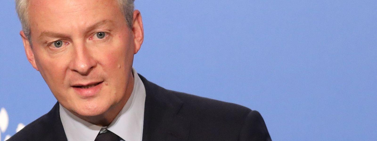 Der französische Wirtschaftsminister  Bruno Le Maire verspricht sich vom dem Gesetz mit 70 Einzelartikeln auf längere Sicht mehr Wirtschaftswachstum.
