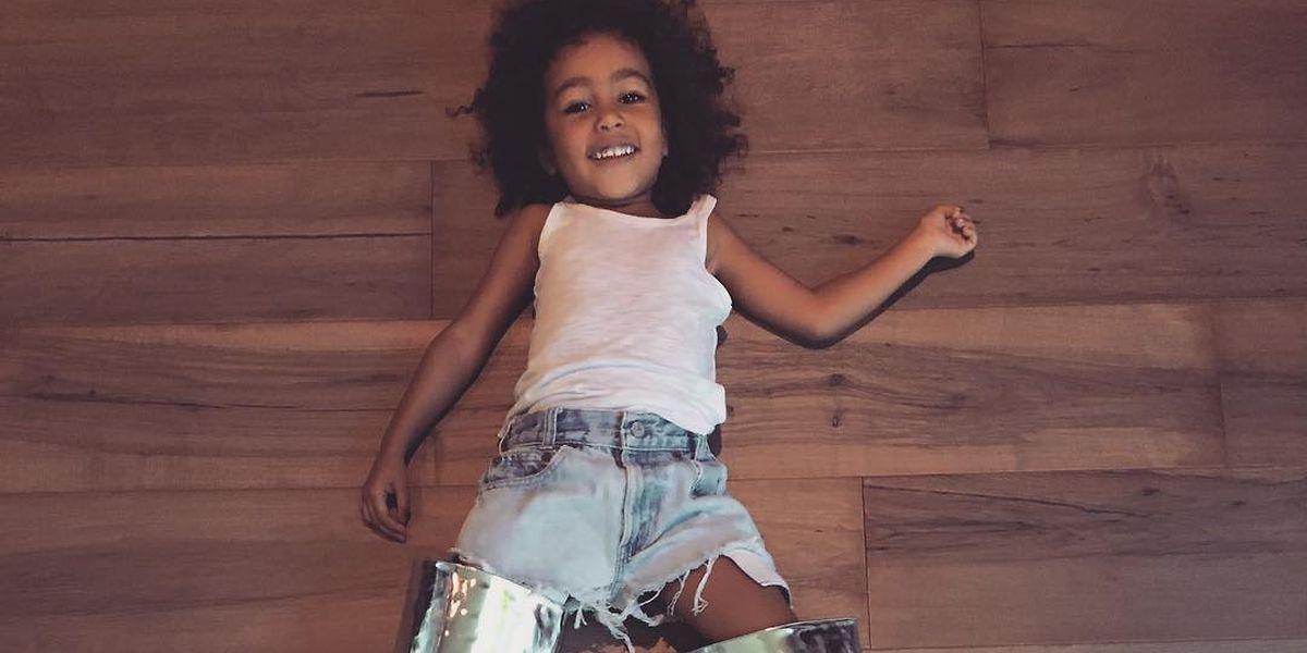 Auch Promimütter schrecken nicht vor sharenting zurück. Diese Aufnahme ihrer Tochter North West postete It-Girl Kim Kardashian vor wenigen Wochen auf Instagram.