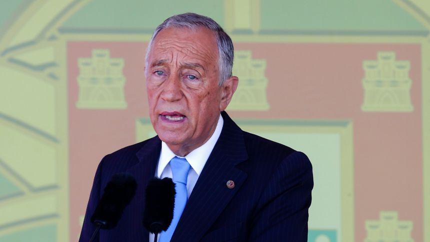 O Presidente da República Portuguesa, Marcelo Rebelo de Sousa