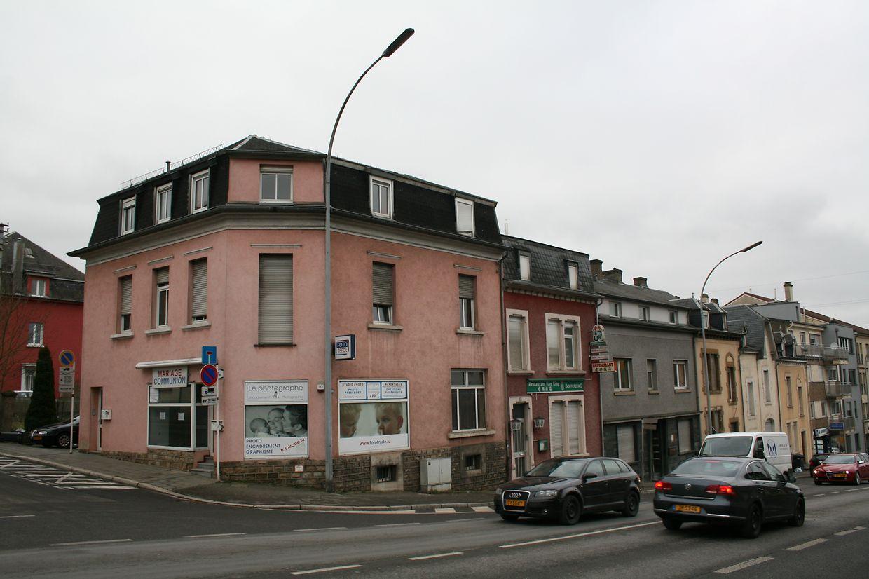 Immeuble de coin 204, route d'Esch (qui fait l'angle avec la rue d'Ethe)