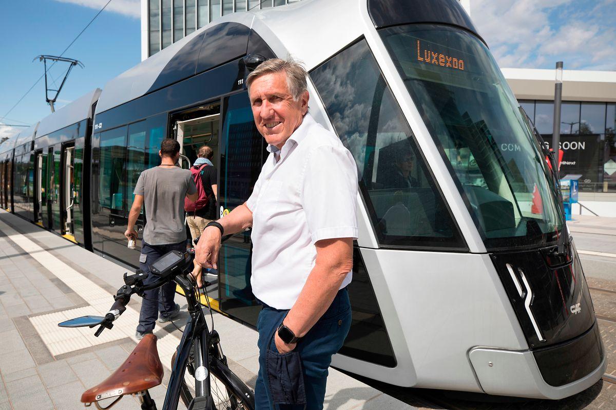 Francois Bausch, Minister für Mobilität und öffentliche Arbeiten, Foto: Guy Wolff/Luxemburger Wort