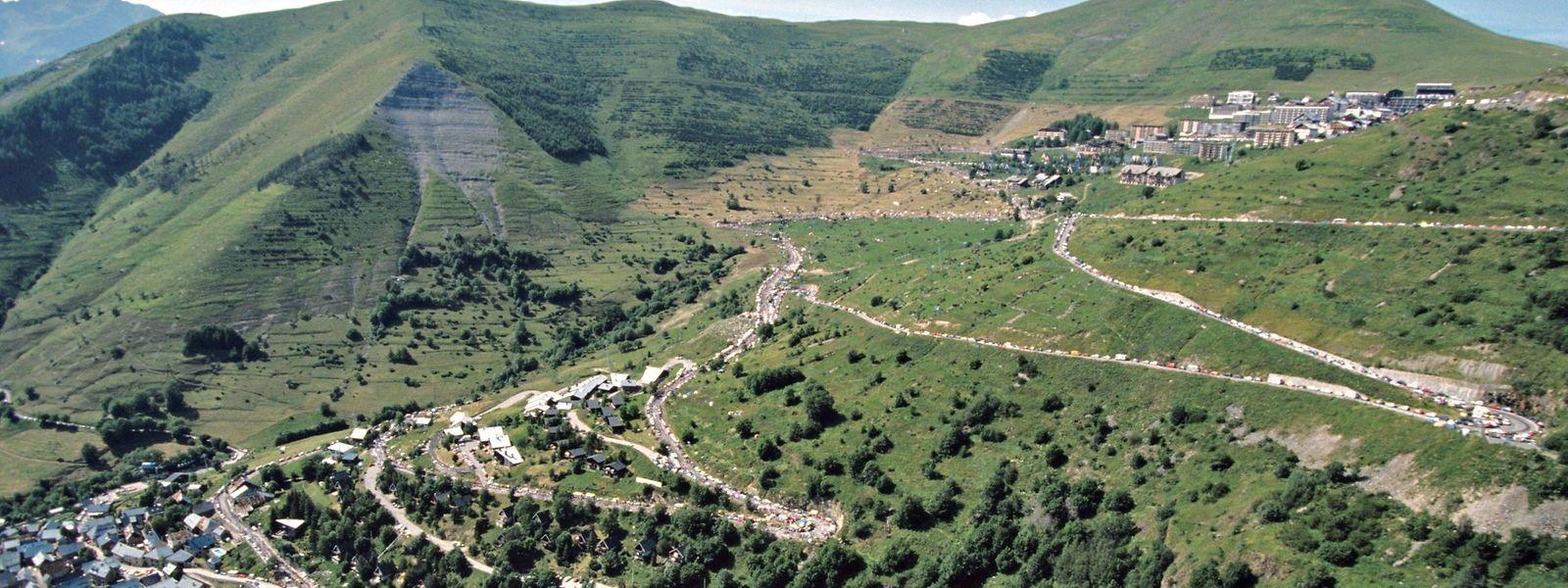 L'Alpe d'Huez gehört wieder zur Strecke der Tour.
